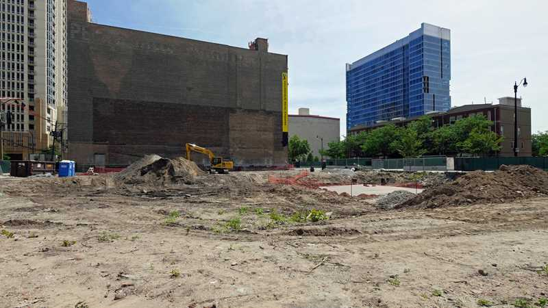 South Loop construction update, 1345 Wabash