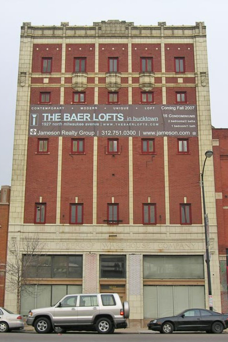 The Baer Lofts, before and after