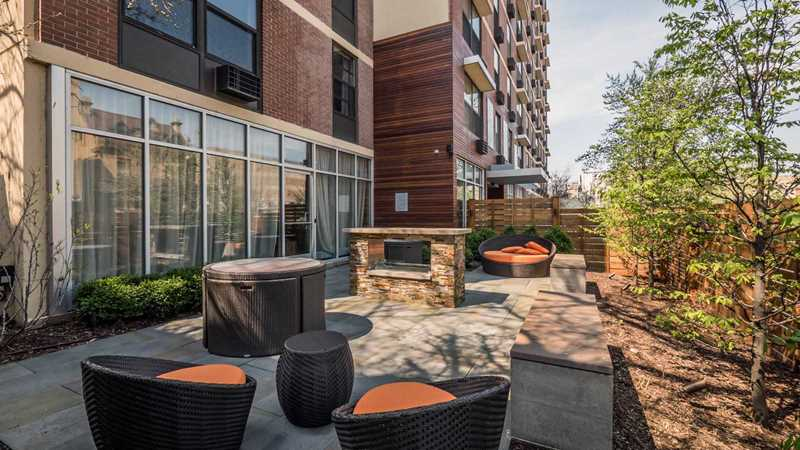 Reside on Barry has updated Lakeview apartments and amenities steps from Mariano's