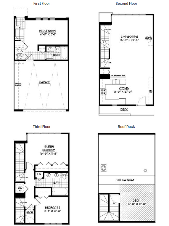 Two floor plans left at Wabash Club