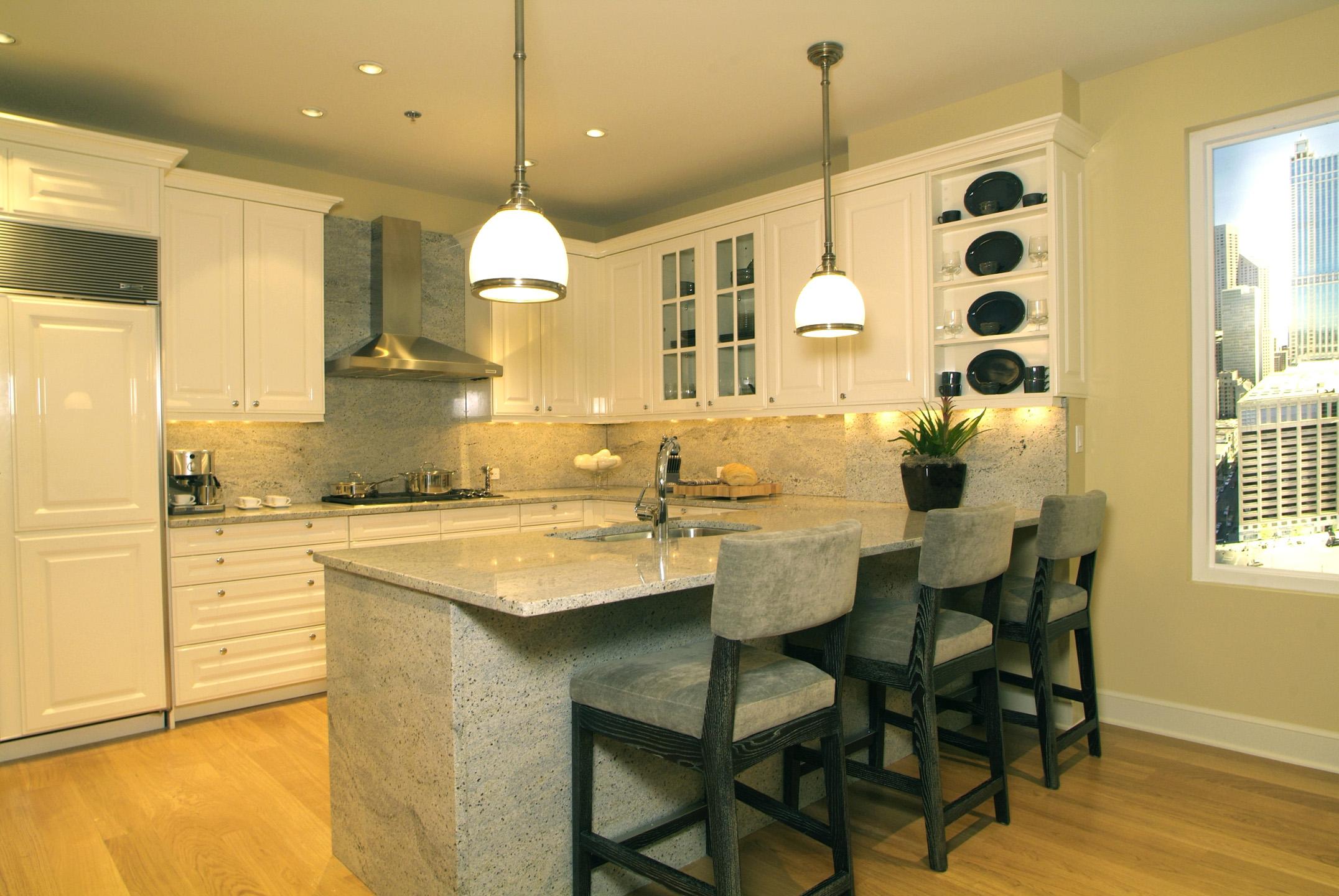 Ten East Delaware kitchen