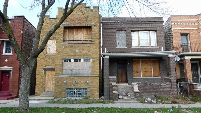 Chicago foreclosure rates on the mend
