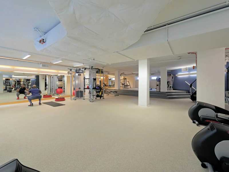 Chestnut Place, Chicago, fitness center