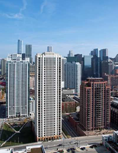 Echelon Chicago apartments, 353 N Desplaines St, Fulton River District