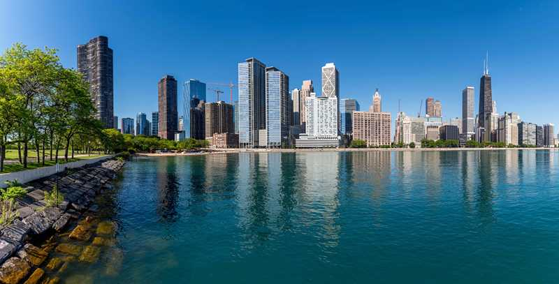Streeterville skyline, Chicago