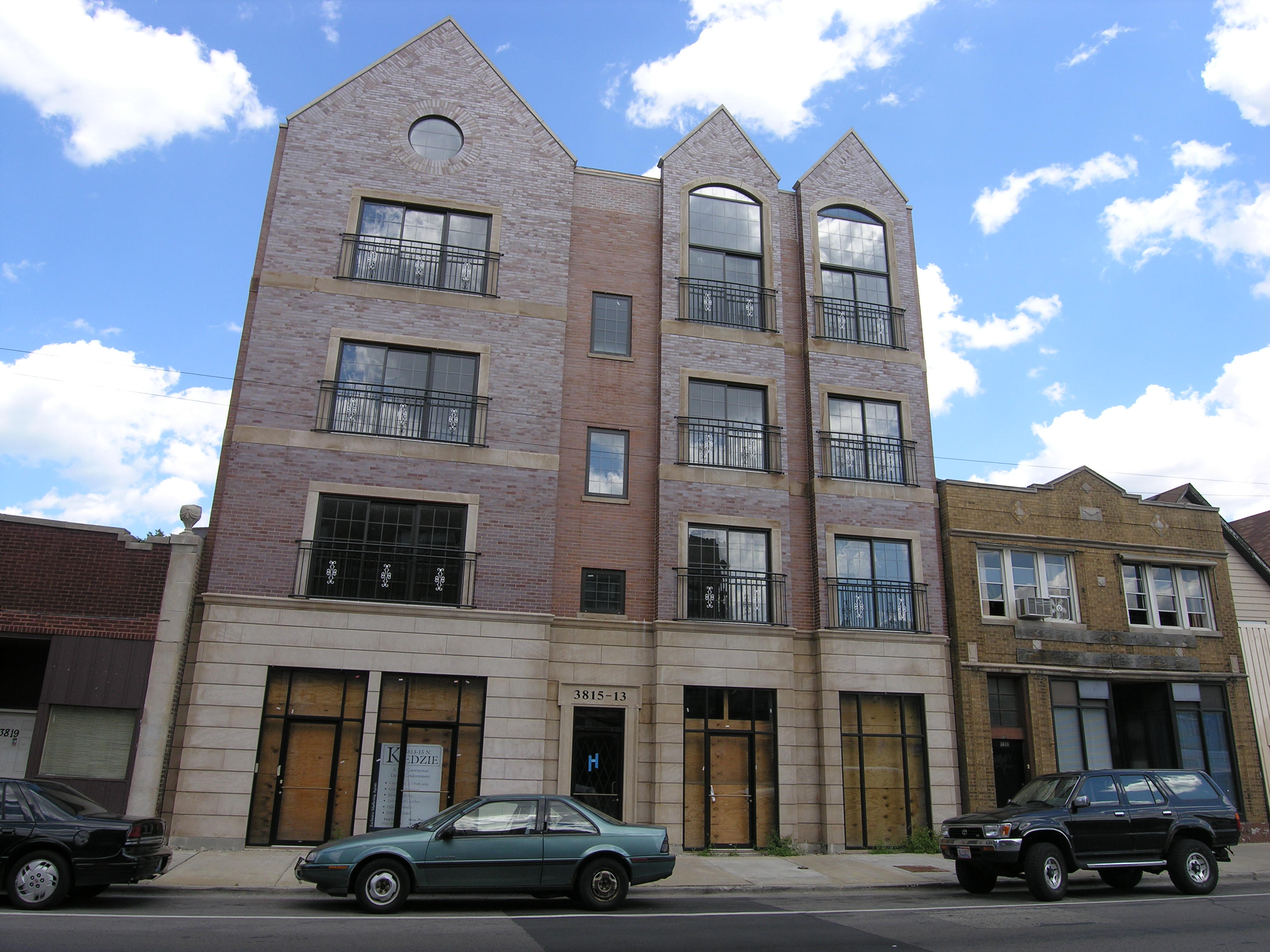Kedzie condo project on hold