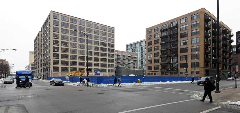 Five new West Loop apartment projects, an update