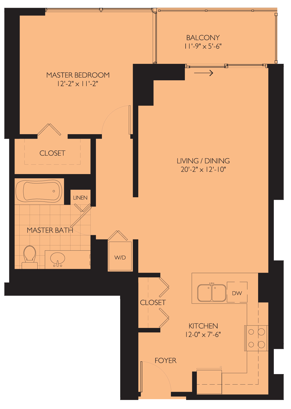 Rental smackdown: One-bedroom units at Burnham Pointe and Sky55