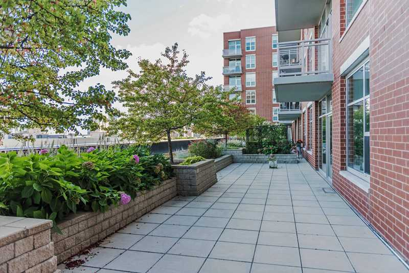 Rent a South Loop 2-bedroom loft with a rambling private terrace