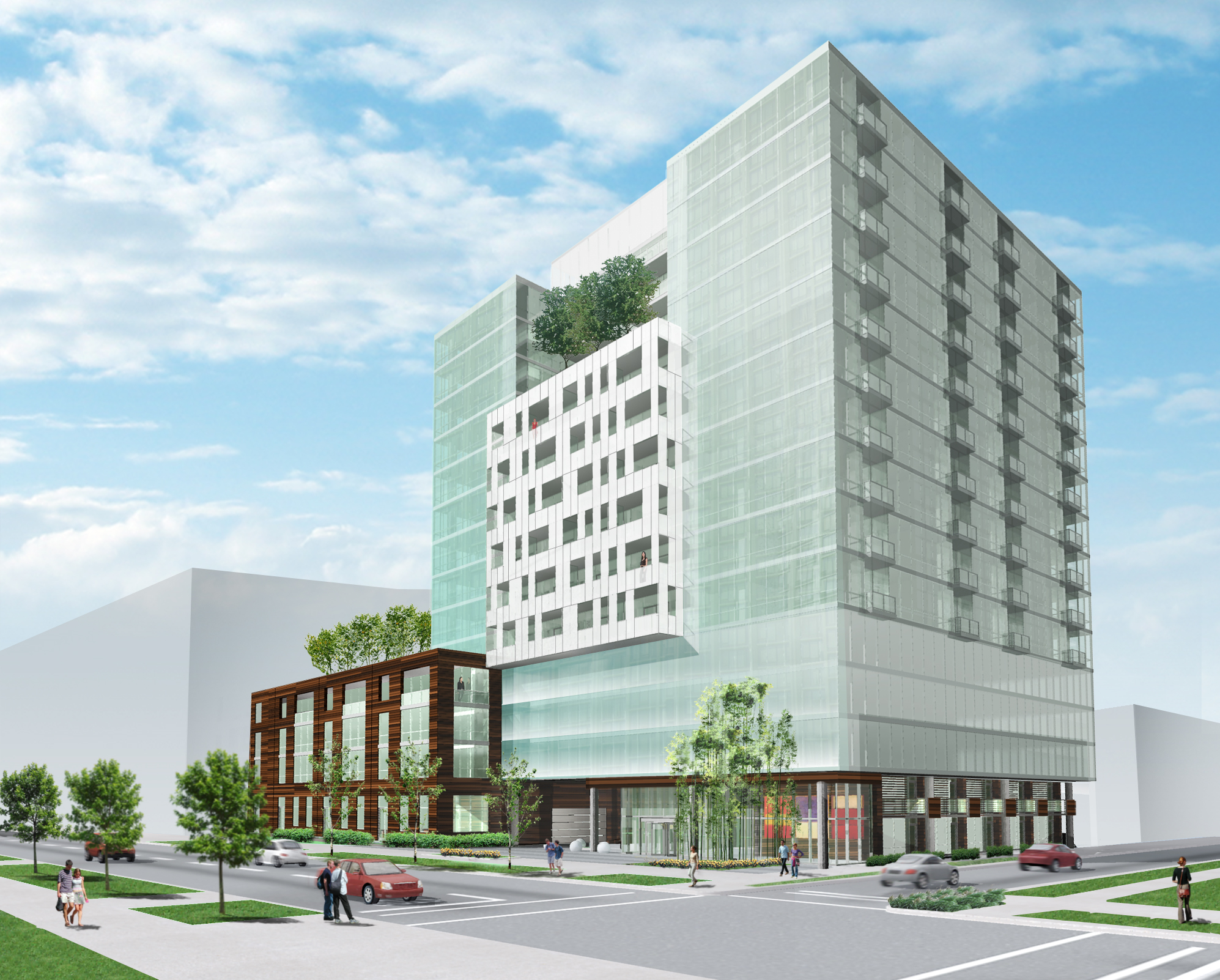 A closer look at the new design for 5440 Sheridan