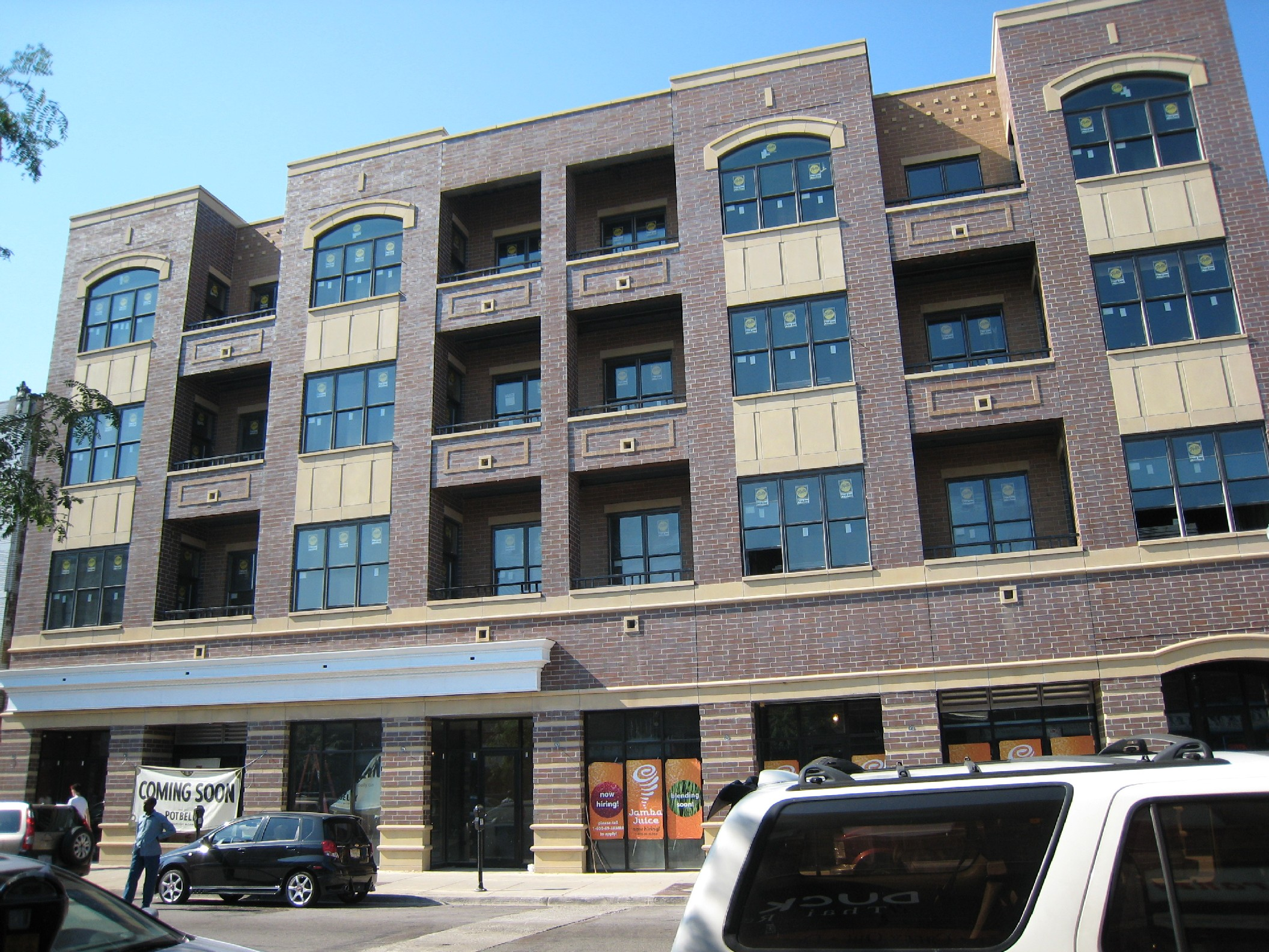 Potbelly's and Jamba Juice coming to new Belmont rental building