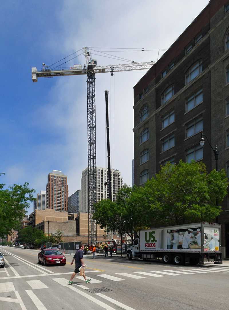 1345 Wabash condos begin to rise in South Loop