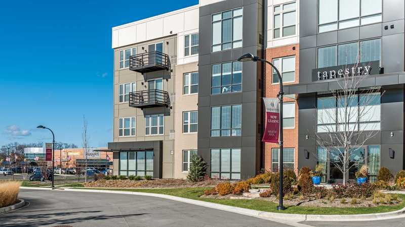 Walk through a new 2-bedroom, 2-bath at Tapestry Glenview apartments