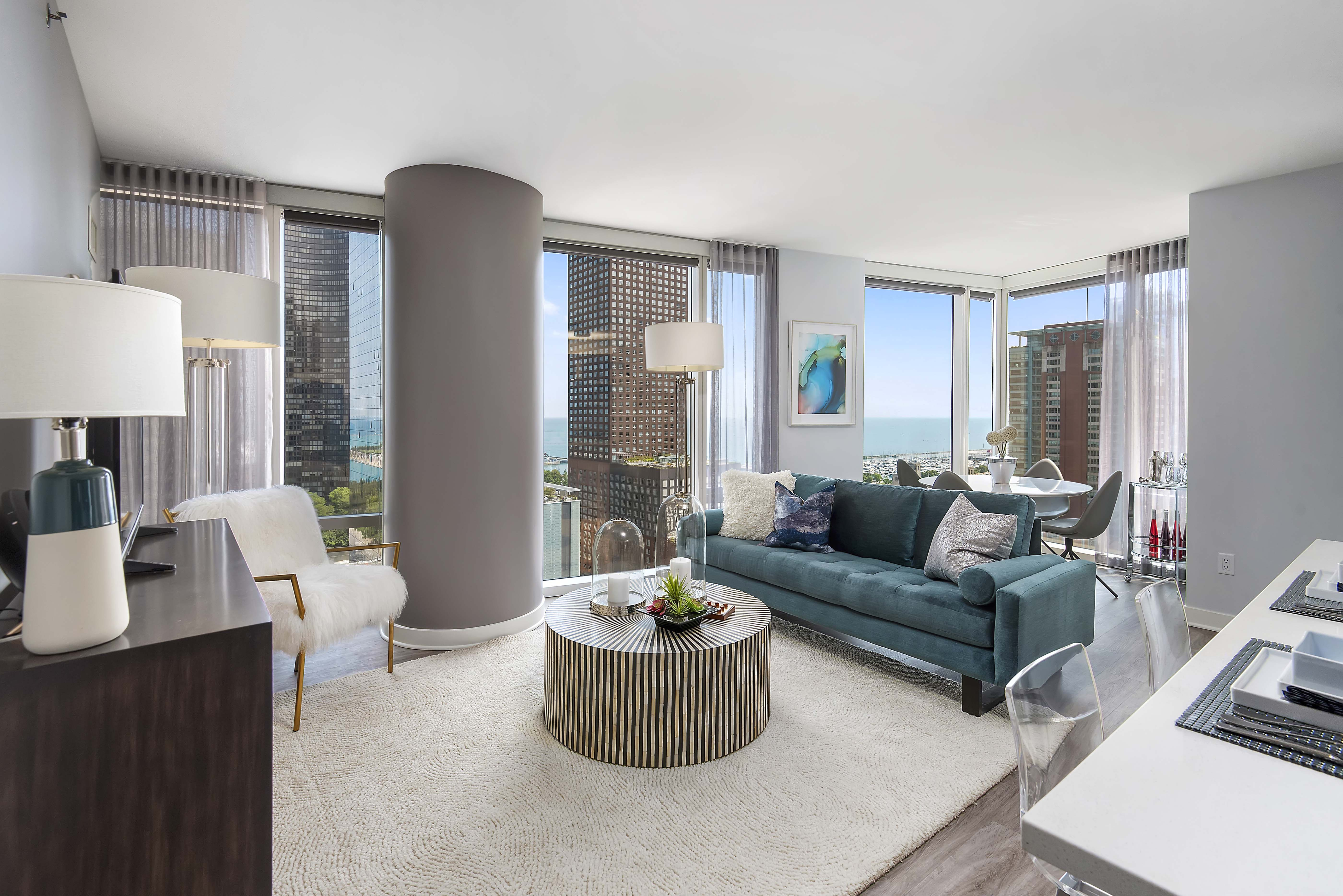 First Look A 2 Bedroom 2 Bath At Streeterville S New