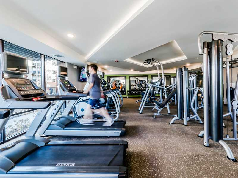 Fitness room, Tapestry Glenview