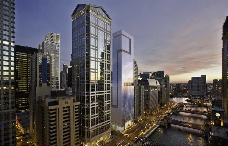 OneEleven apartments, 111 W Wacker Dr, Loop