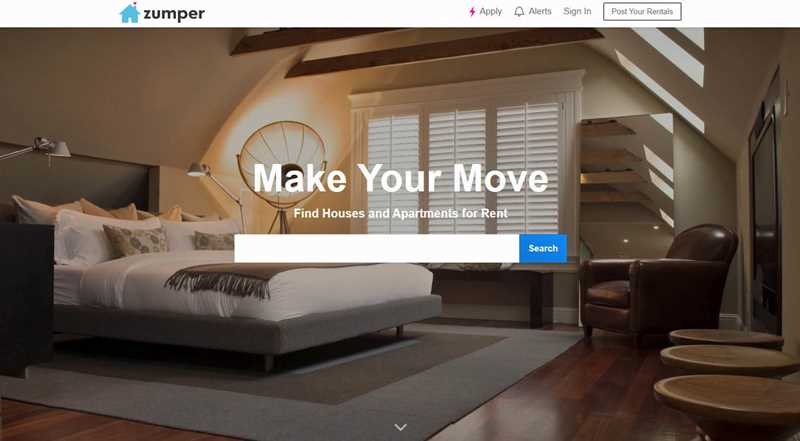 Zumper has a new design and spam apartment ads