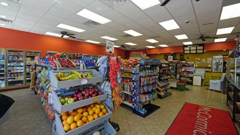New convenience store, CTA station near The LEX apartments