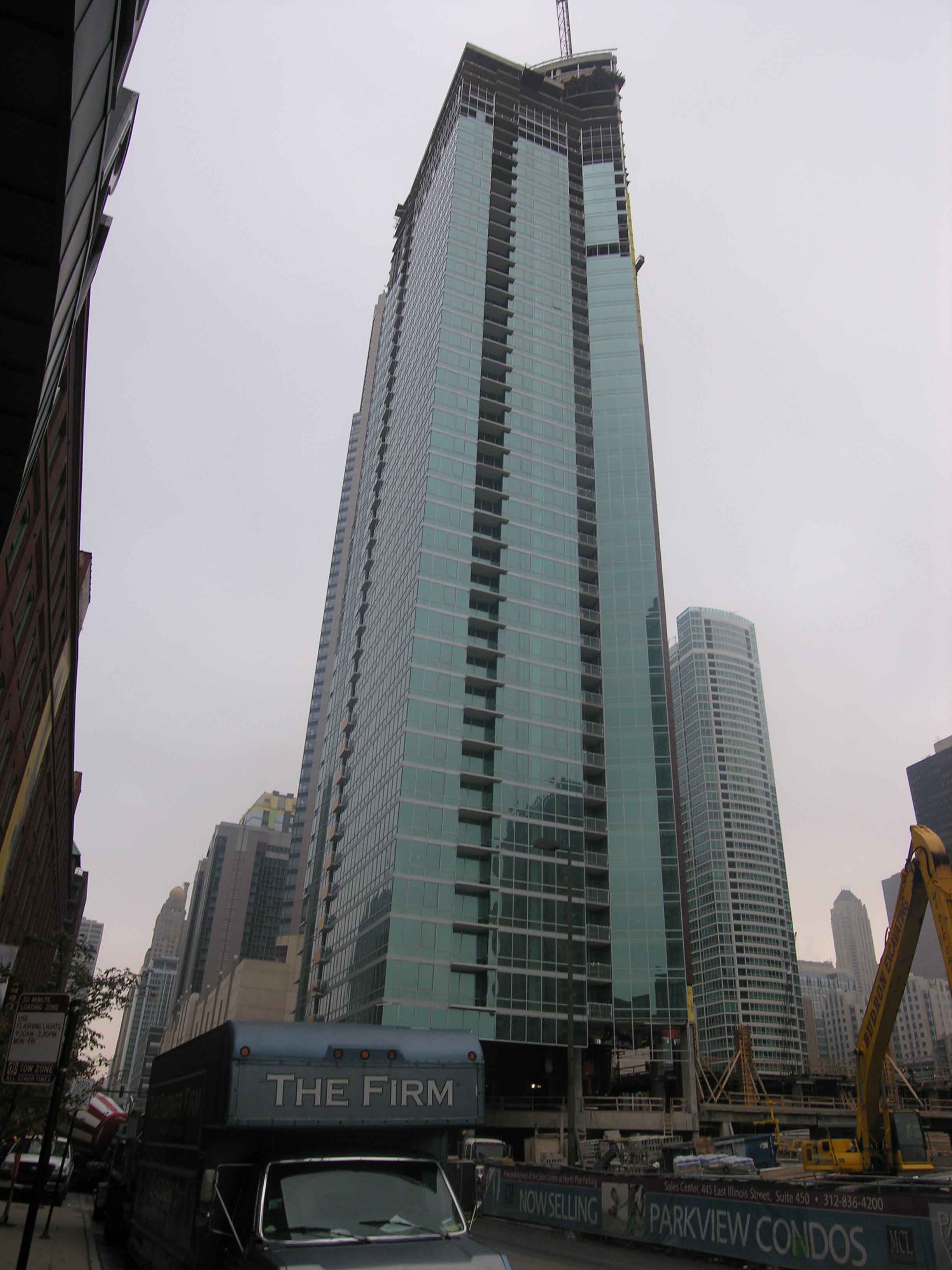 Construction update: Streeterville's ParkView topped out