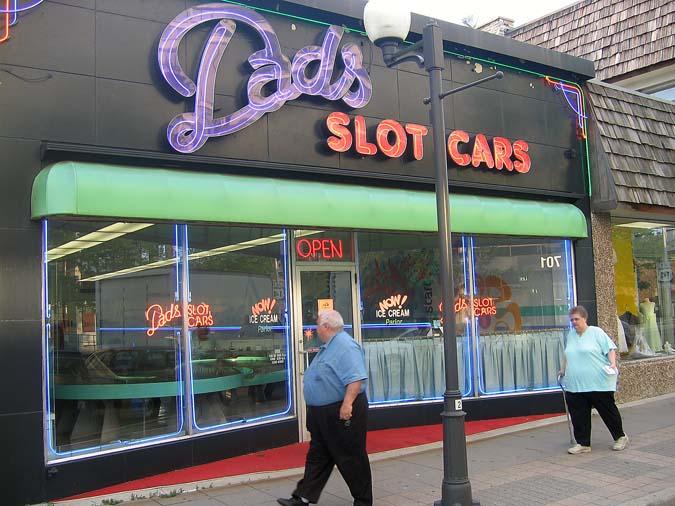 Dad's Slot Cars