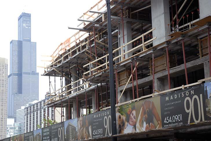 Construction is underway at Terrapin Properties' 901 Madison