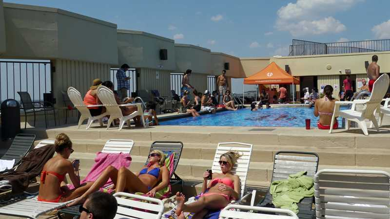 The pool's still open at 1120 North LaSalle