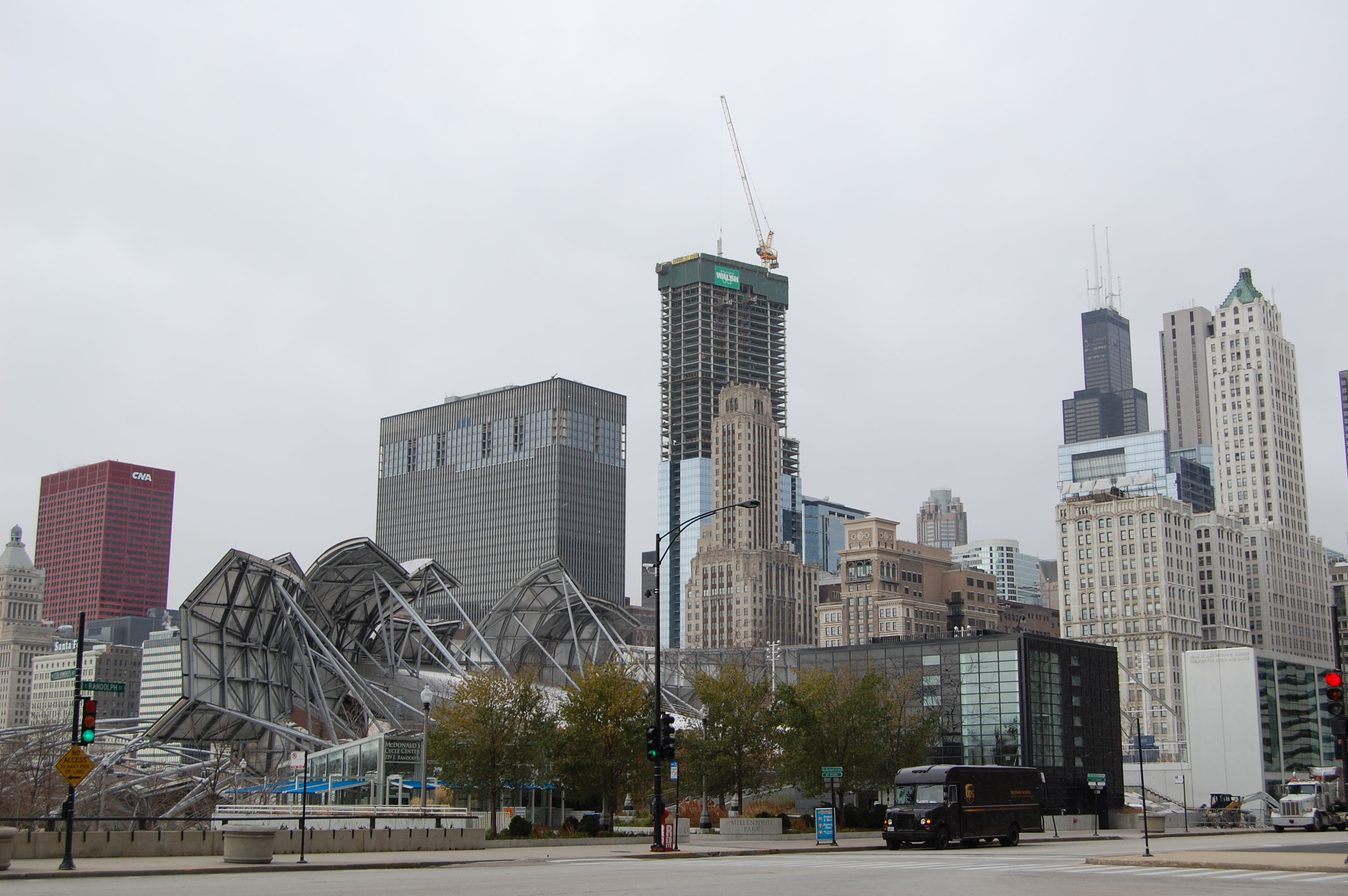 The Loop's changing skyline