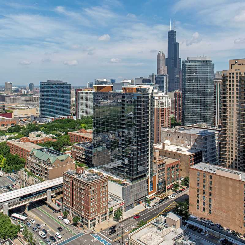 Eleven40 apartments have a steps-to-everything South Loop location