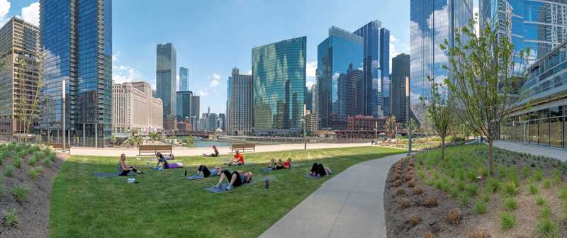 Park at River Point, Chicago