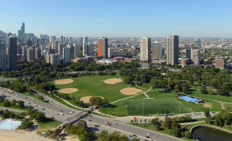 45-story, 264-unit high-rise proposed for Clark and North