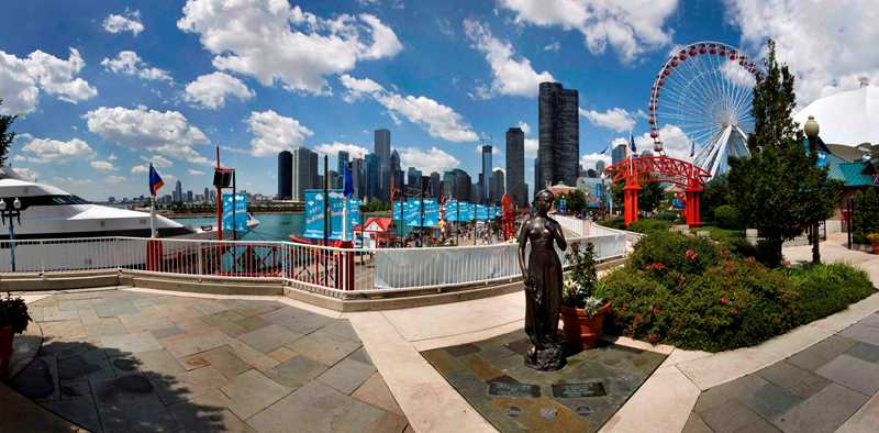Kardas Photography, Navy Pier panorama Chicago IL