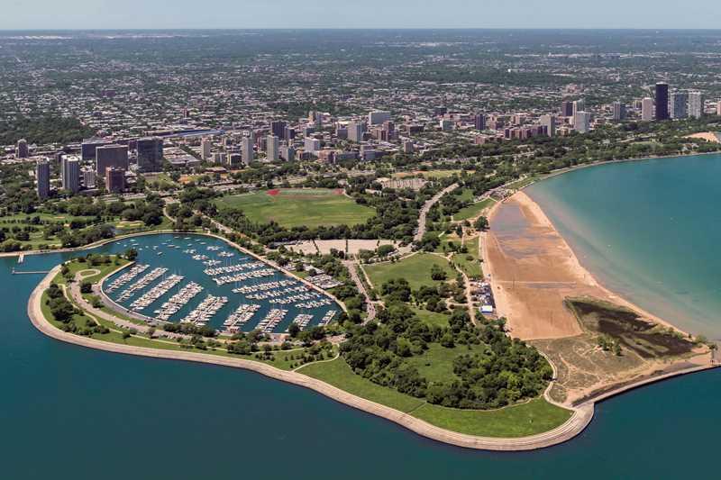 Clarendon Park, Montrose Beach, Chicago
