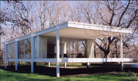Movie star raises money for Mies' Farnsworth House