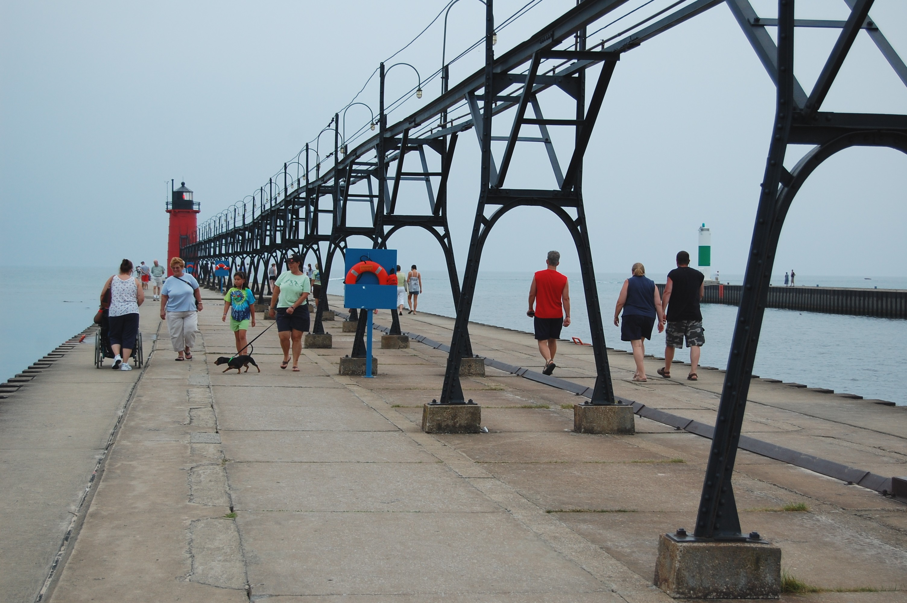 A day at the beach: Yo goes to South Haven