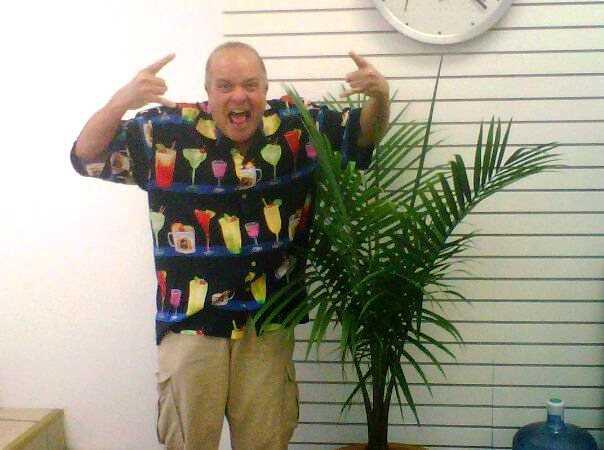 Do you have an uglier Hawaiian shirt?