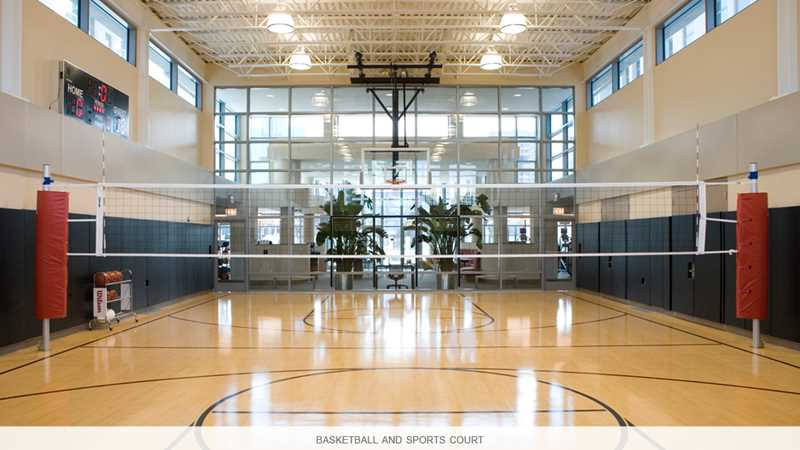 Sports court, Alta, Chicago