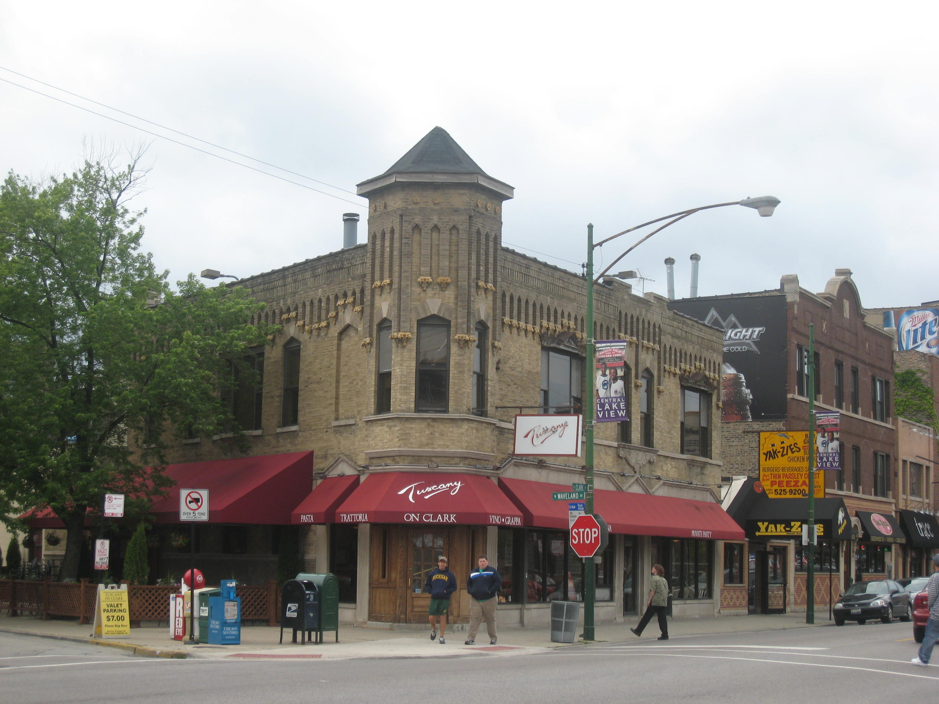 Turrets on Clark Street in Lake View