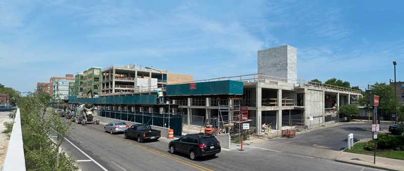 AMLI Evanston, a construction update