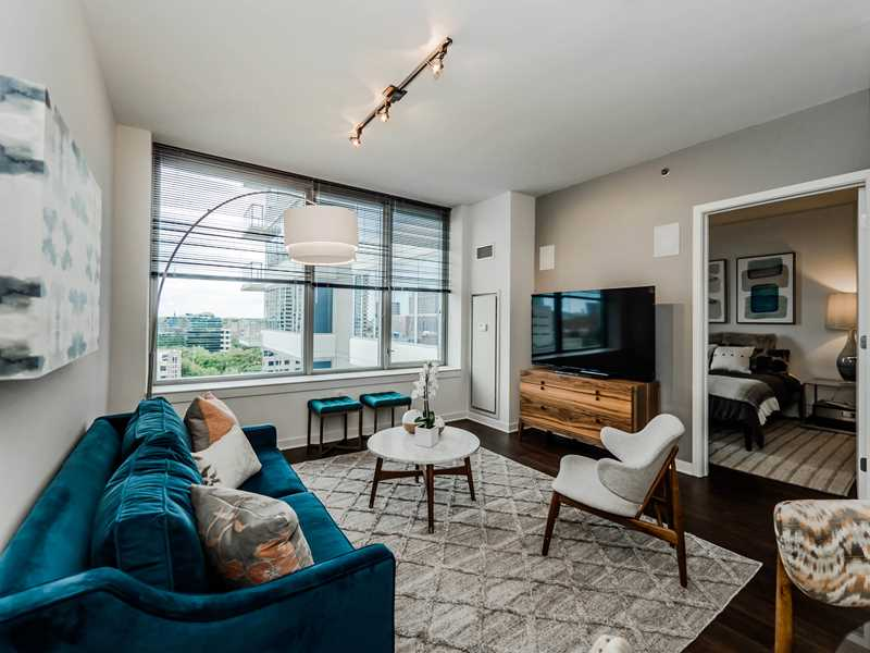 One-bedrooms from $1,810 at the new E2 in Evanston