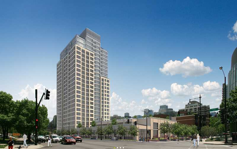 The Hudson apartments, 750 N Hudson Ave, River North