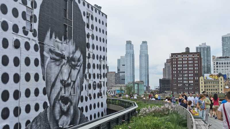 The Bloomingdale Trail and the High Line