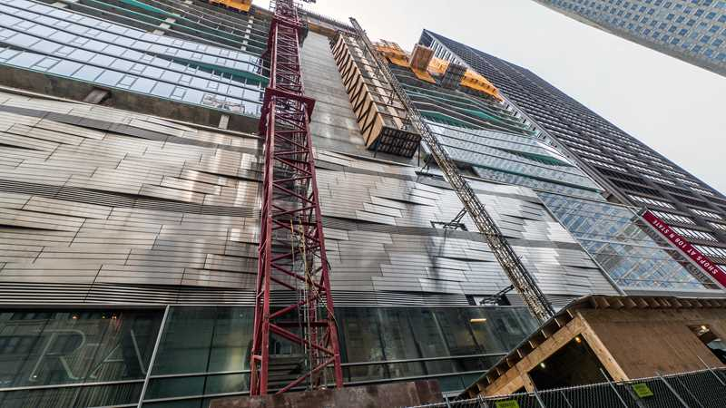 Block Thirty Seven's fascinating façade