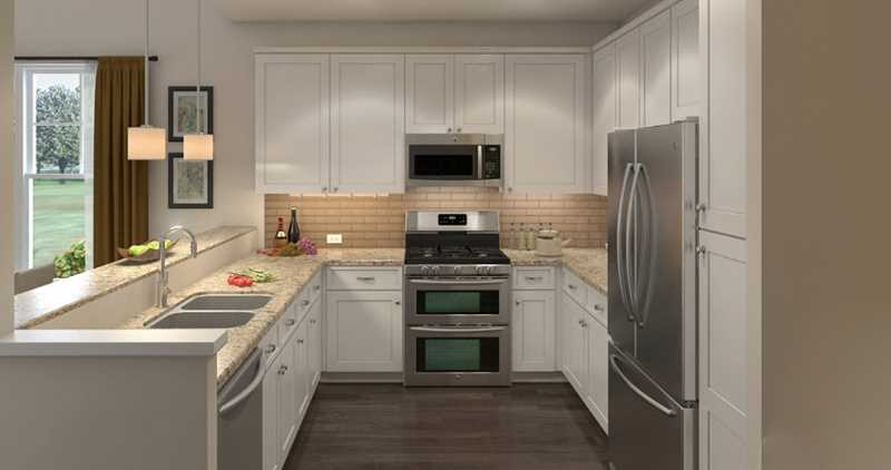 Innovative new townhomes at Palatine's Lexington Oaks