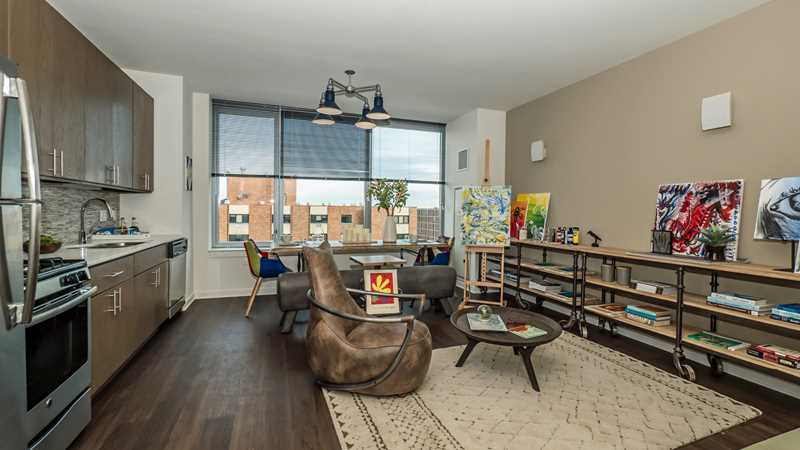 Rent an award-winning studio in downtown Evanston