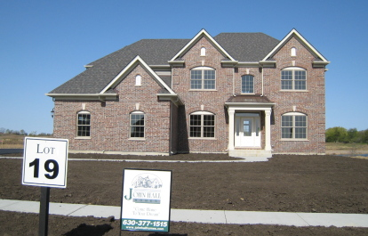 One home ready for immediate delivery at John Hall's Reserve of St Charles