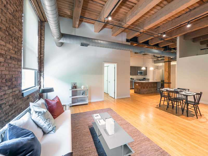 Reside Living has newly-renovated West Loop classic timber lofts and apartments