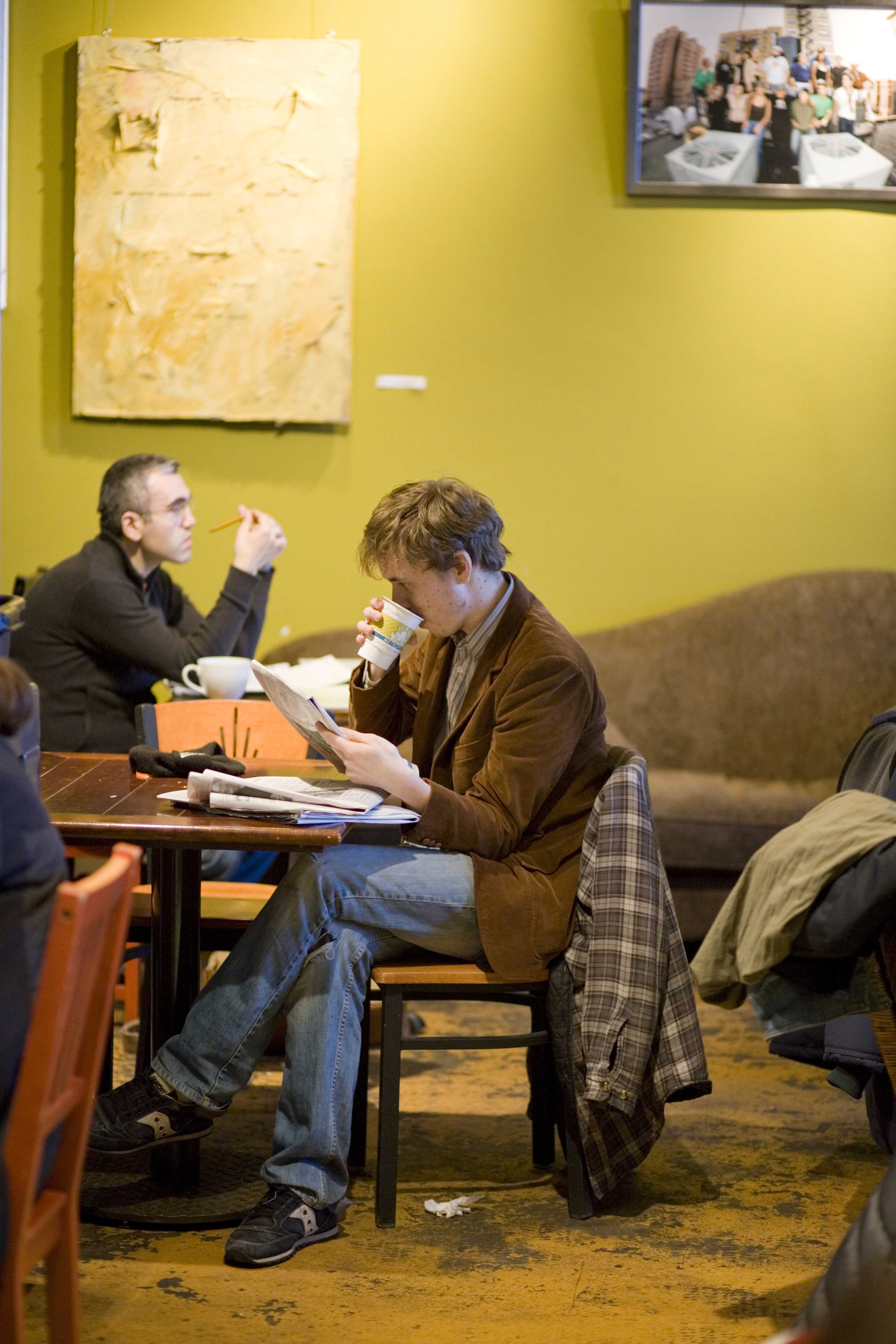 The Metropolis Coffee Company, which opened in 2003 at 1039 W. Granville Ave., is popular with Edgewater locals.