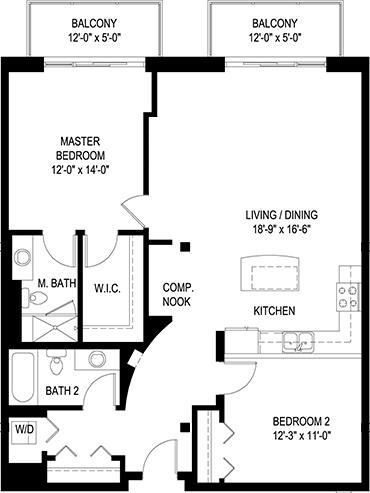770 Lofts floor plan