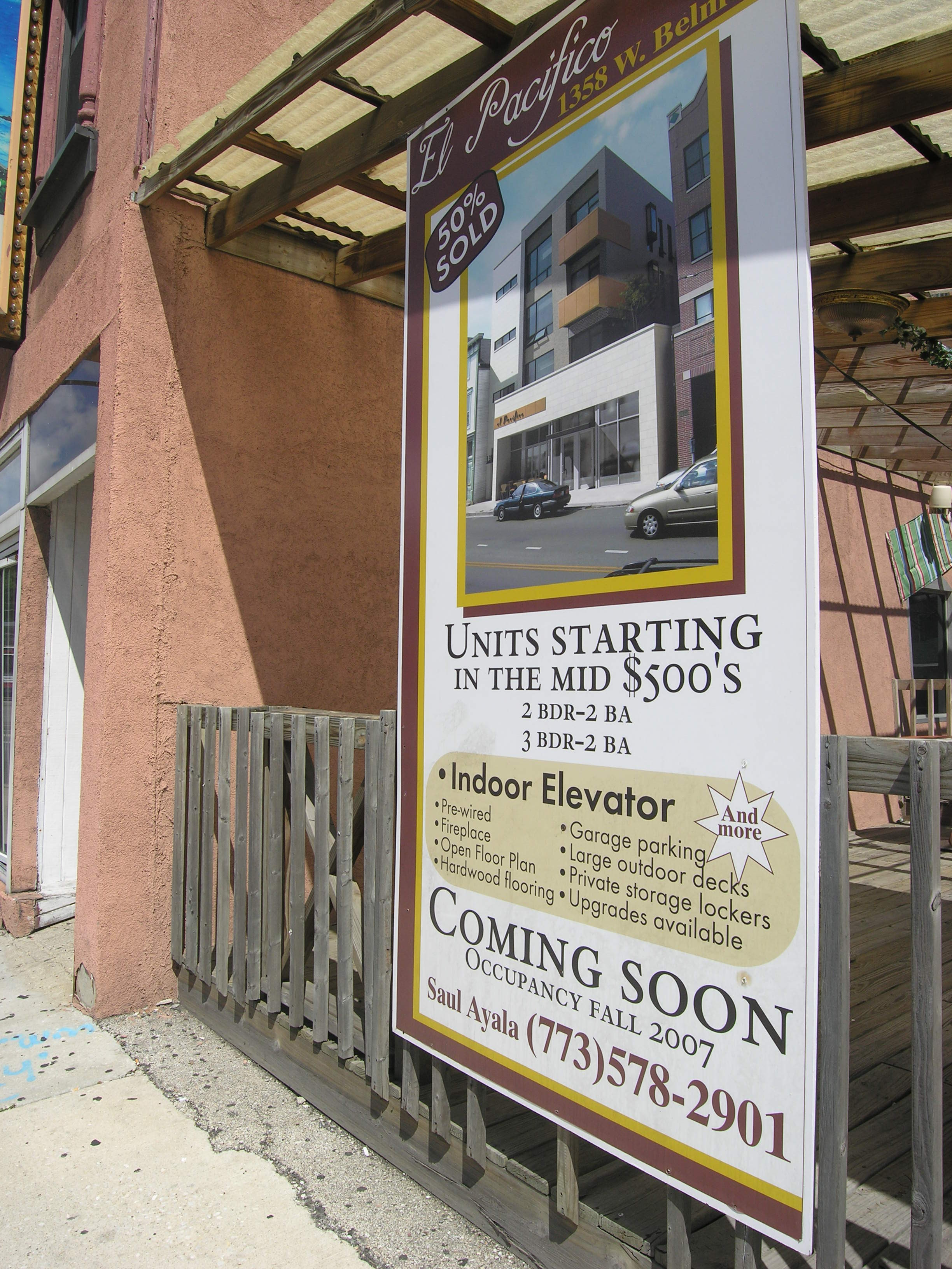 Update: construction on El Pacifico to begin in August