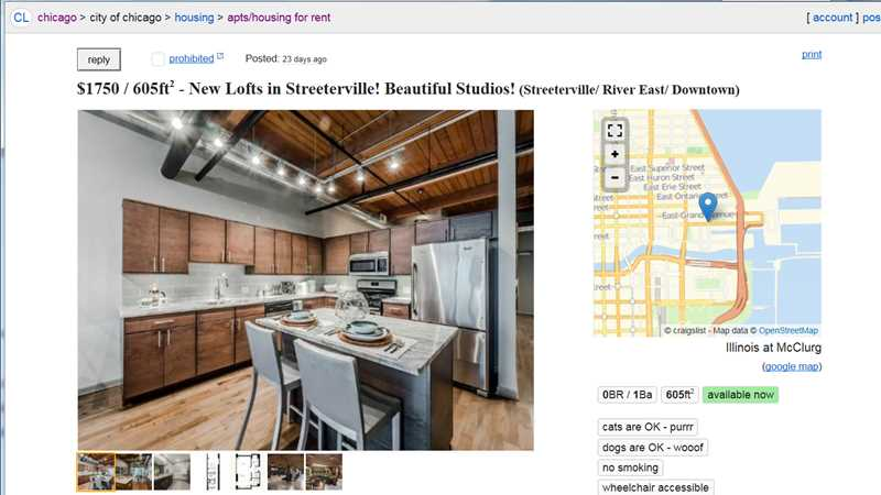Chicagoland Property Group spams Craigslist with 6,000 apartment ads